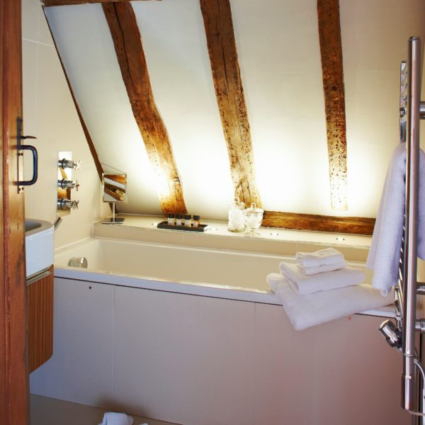 The Attic bedroom bathroom